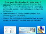 principais novidades do windows 79