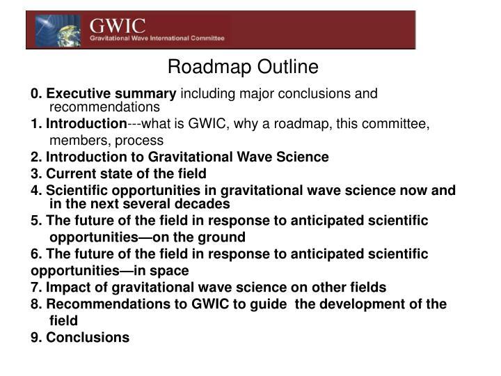 Roadmap Outline