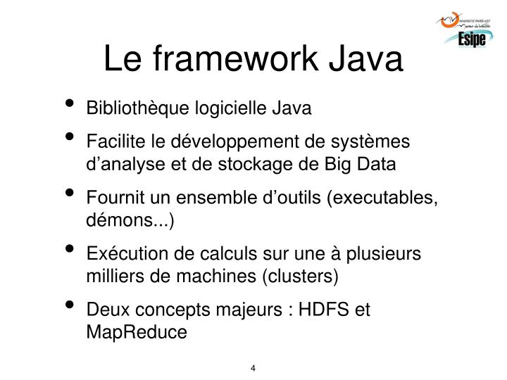 Le framework Java