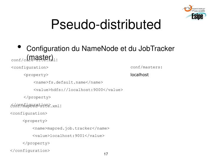 Pseudo-distributed