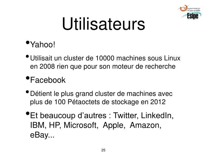 Utilisateurs