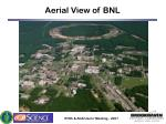 aerial view of bnl
