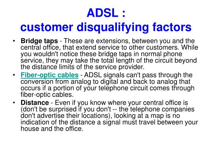 ADSL :