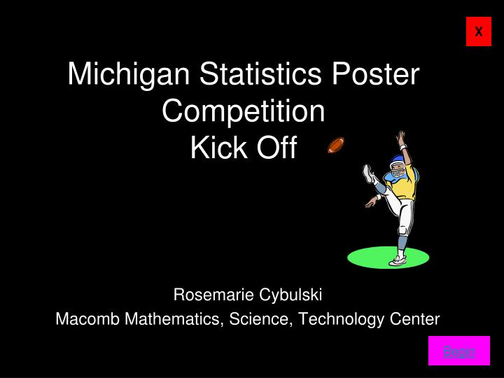 michigan statistics poster competition kick off n.