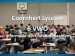 6 vwo informatie over het eindexamen