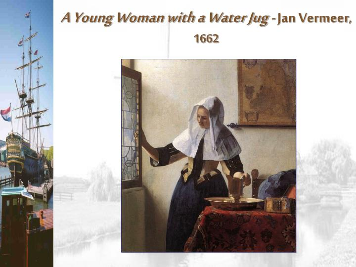 A Young Woman with a Water Jug
