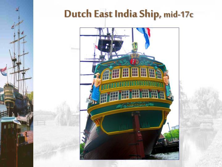 Dutch East India Ship,