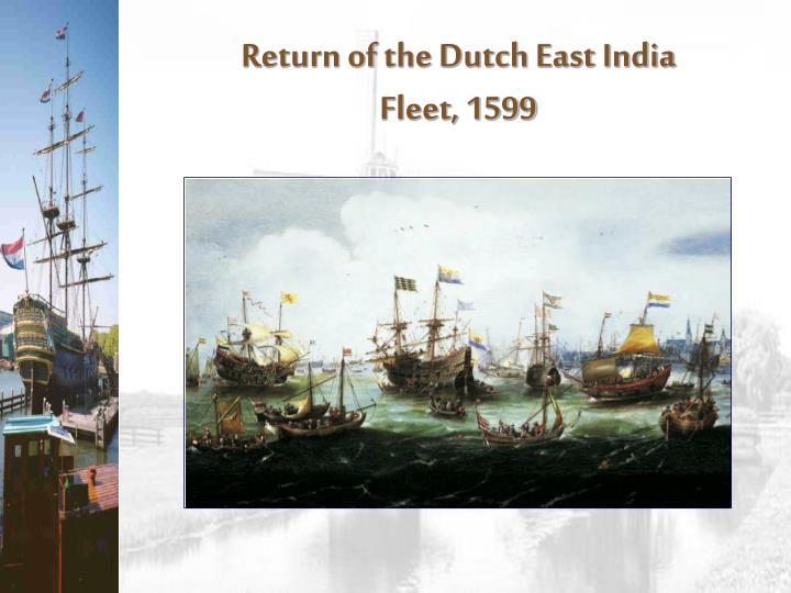Return of the Dutch East India