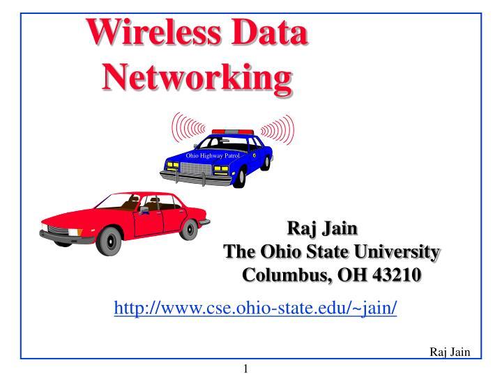 wireless data networking n.