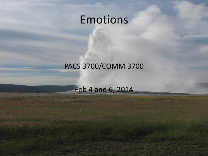 emotions n.