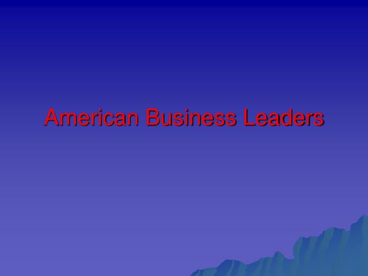 American Business Leaders