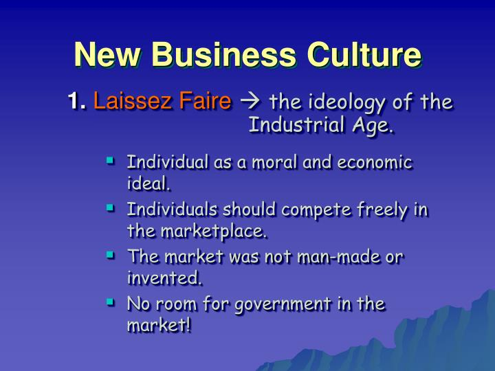 New business culture