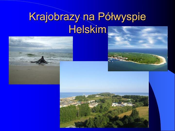 Krajobrazy na p wyspie helskim