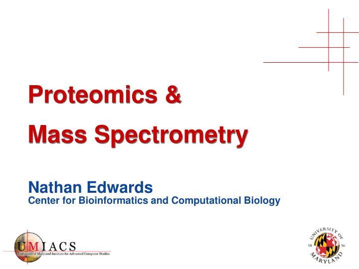 proteomics mass spectrometry n.