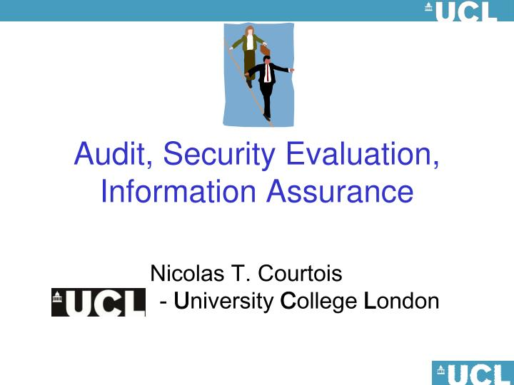 Audit security evaluation information assurance