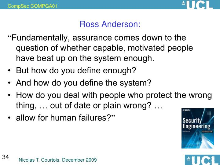 Ross Anderson:
