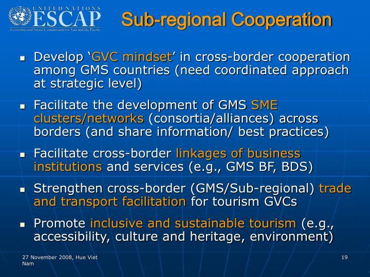 Sub-regional Cooperation