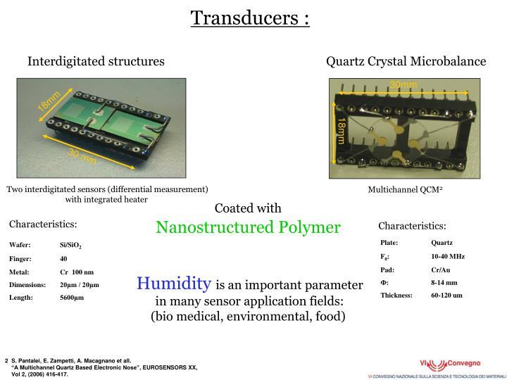 Transducers :
