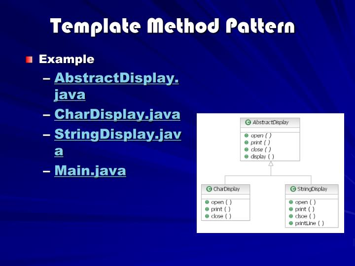 Template Method Pattern