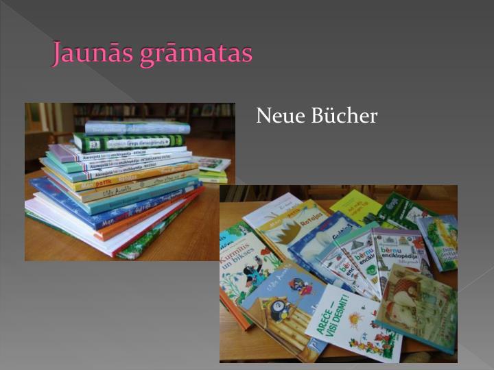 Jaunās grāmatas