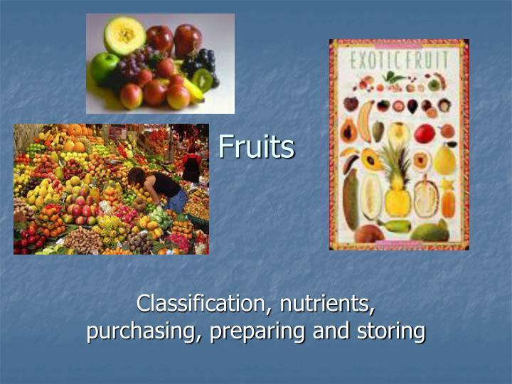 fruits n.