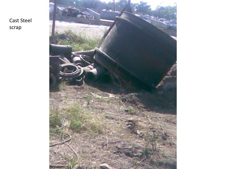 Cast Steel  scrap