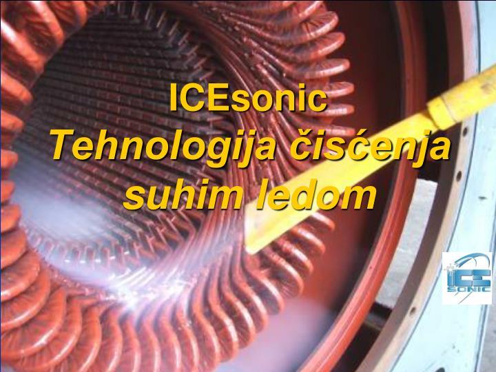Icesonic tehnologija is enja suhim ledom