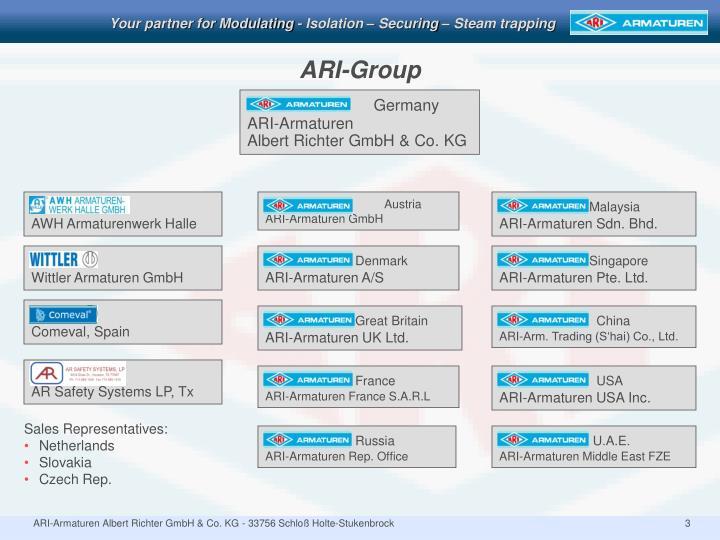 Ari group