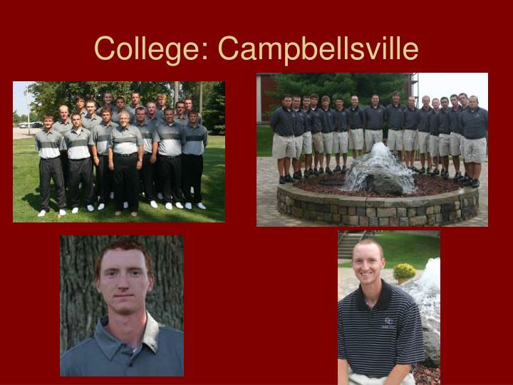 College: Campbellsville