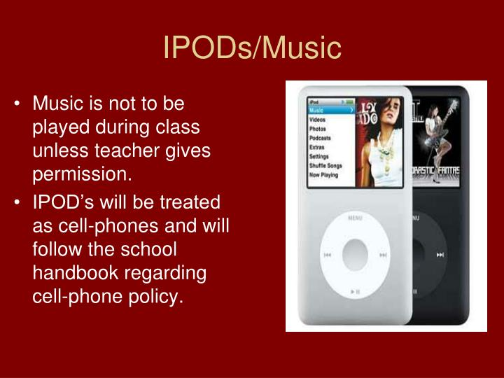 IPODs/Music