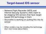 target based ids sensor
