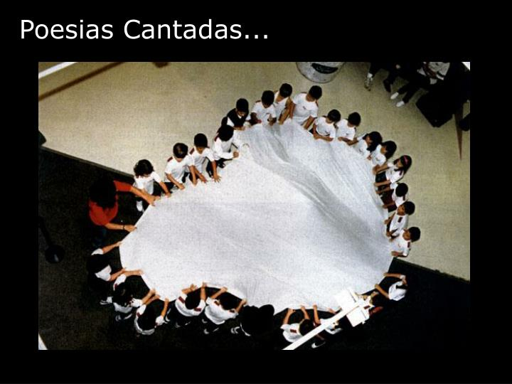 Poesias Cantadas...