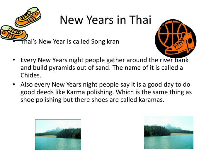 New Years in Thai