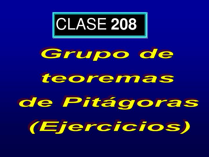 CLASE