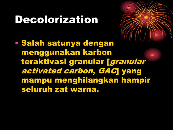 Decolorization