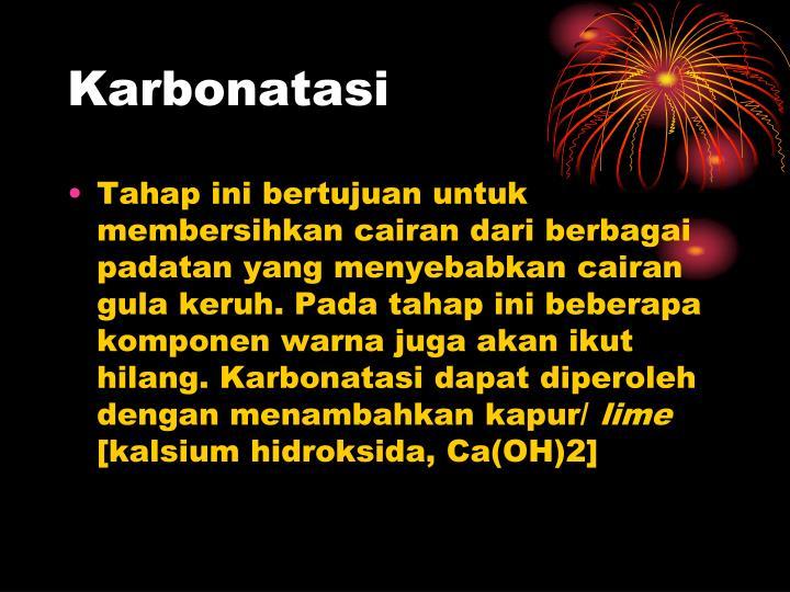 Karbonatasi