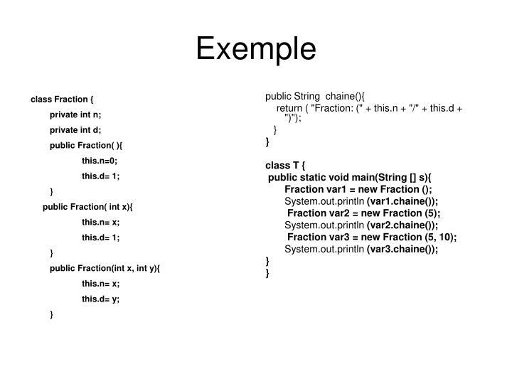 class Fraction {