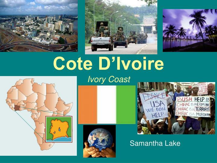 Cote d ivoire ivory coast