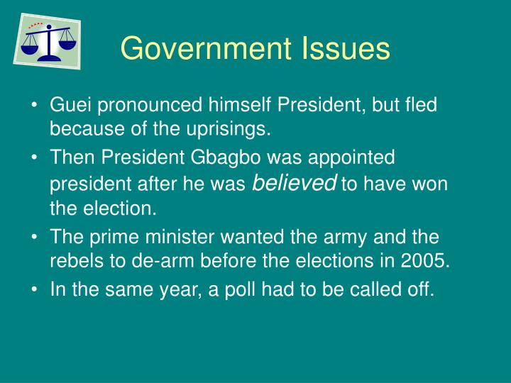 Government Issues