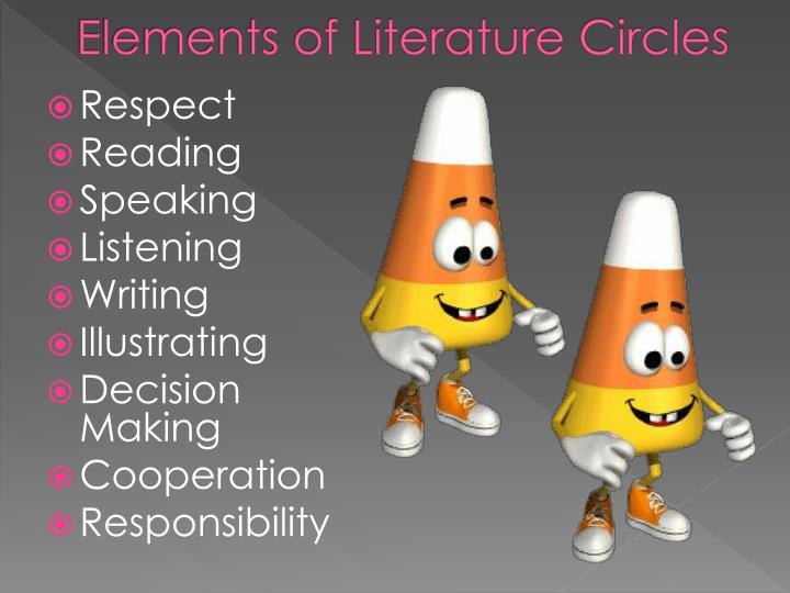 Elements of literature circles