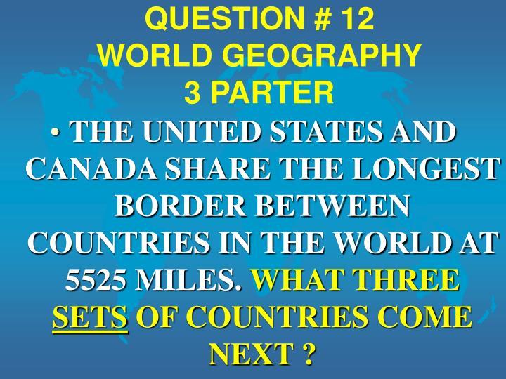 QUESTION # 12