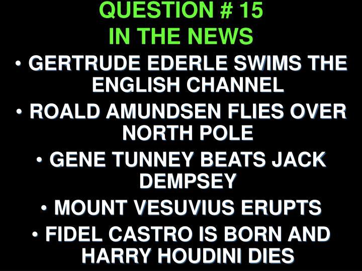 QUESTION # 15
