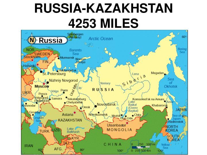 RUSSIA-KAZAKHSTAN