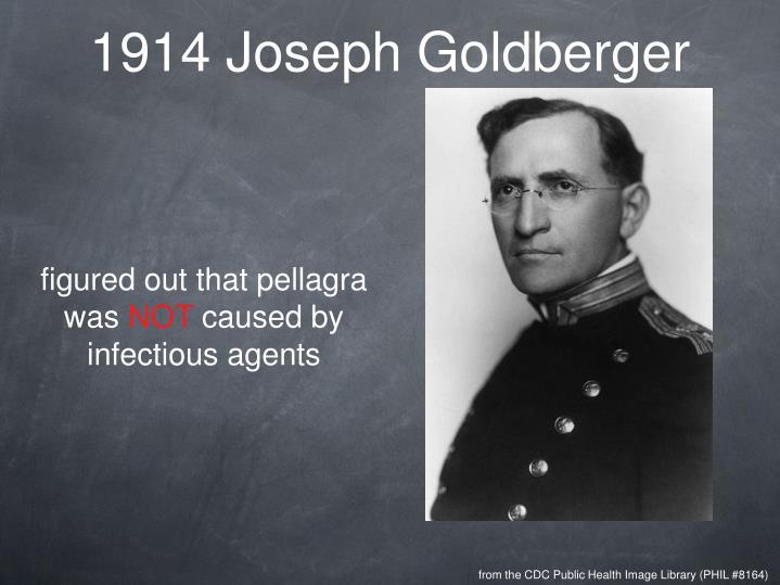1914 Joseph Goldberger