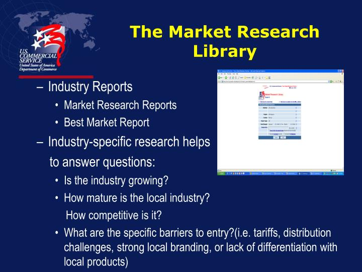 The Market Research Library