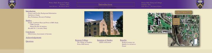 Peirce Hall, Kenyon College