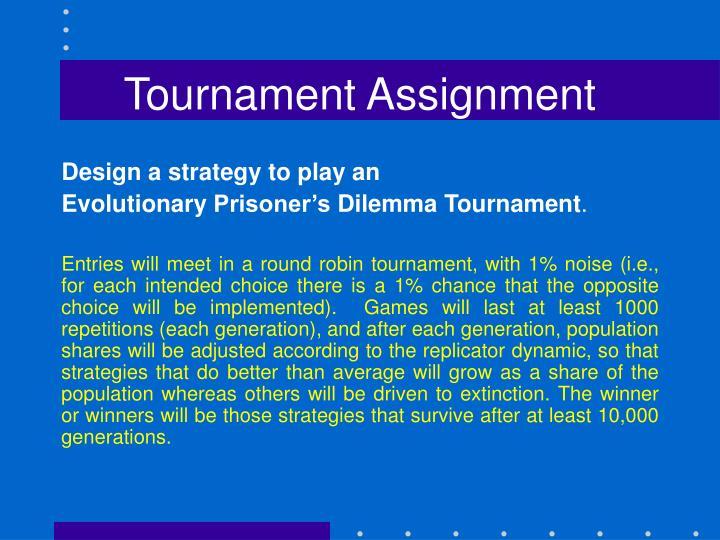 Tournament Assignment