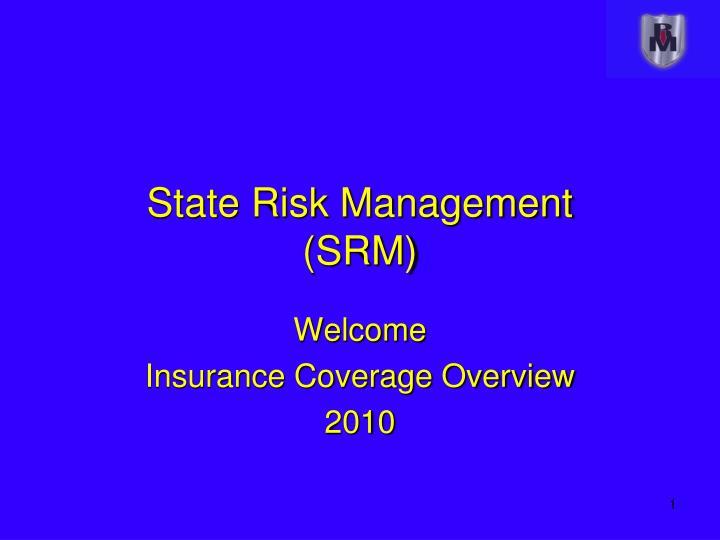 state risk management srm n.