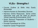 vles strengths i
