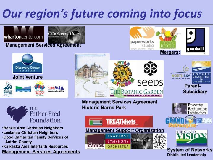 Our region's future coming into focus